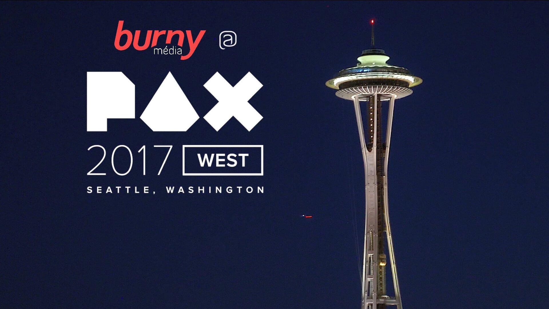 Burny média @ PAX West 2017